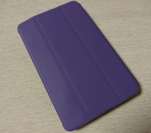 Nexus7にカバーを装着した写真