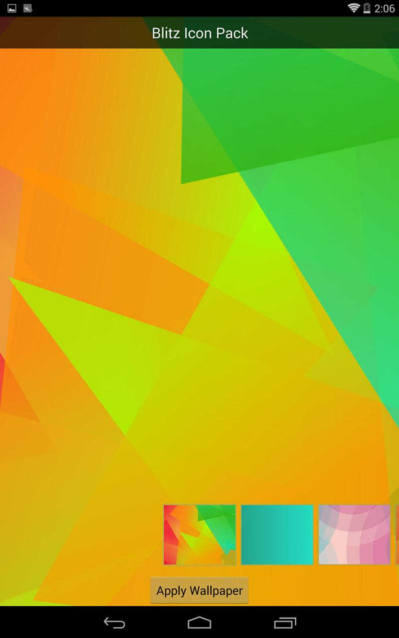 Androidの見た目を簡単にカスタマイズ Nova Launcher Blitz Free Icon Pack あらゆる Com