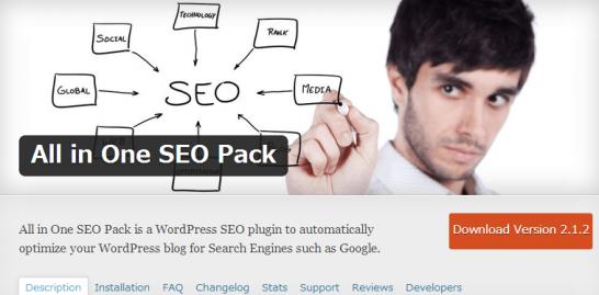 WordPress All in One SEO Pack ≪ WordPress Plugins スクリーンショット