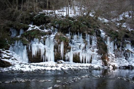 三十槌の氷柱 2013年2月撮影 その1
