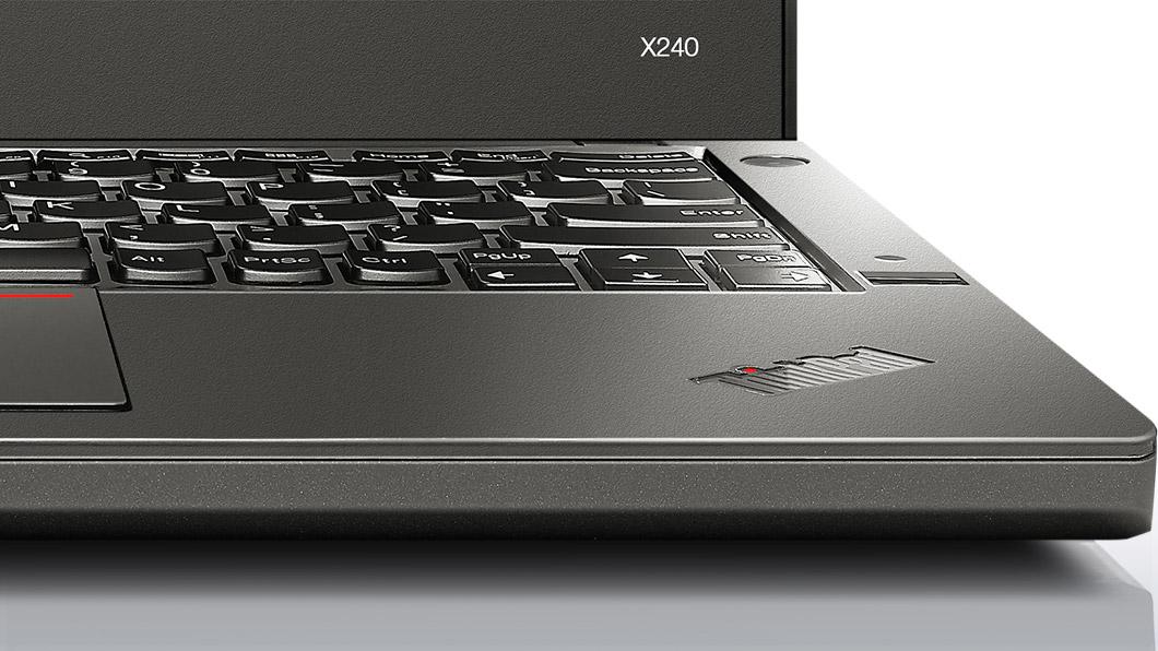 ThinkPad X240、キーボード部分アップ画像