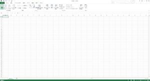 ExcelをThinkPad X240で開いたスクリーンショット