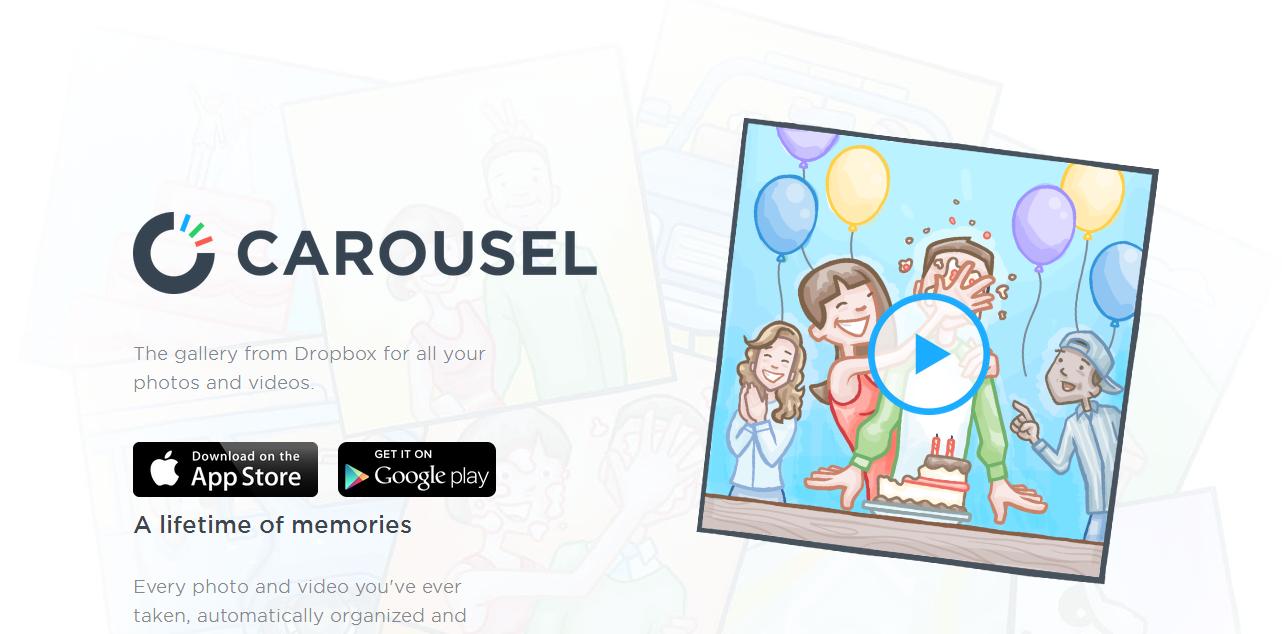 Carousel - Dropbox app image