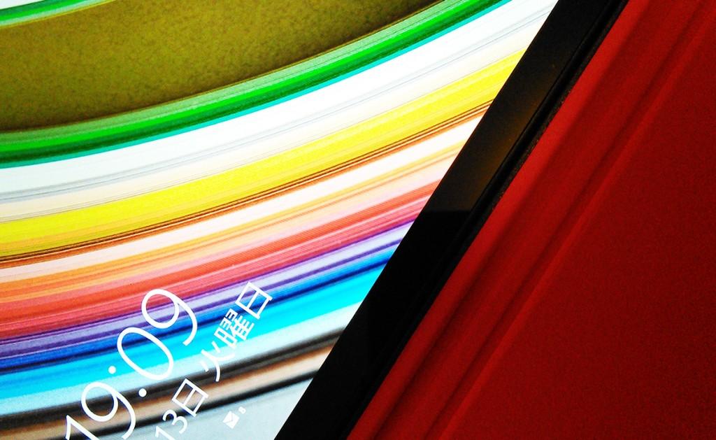 ThinkPad 8、ログイン画面画像