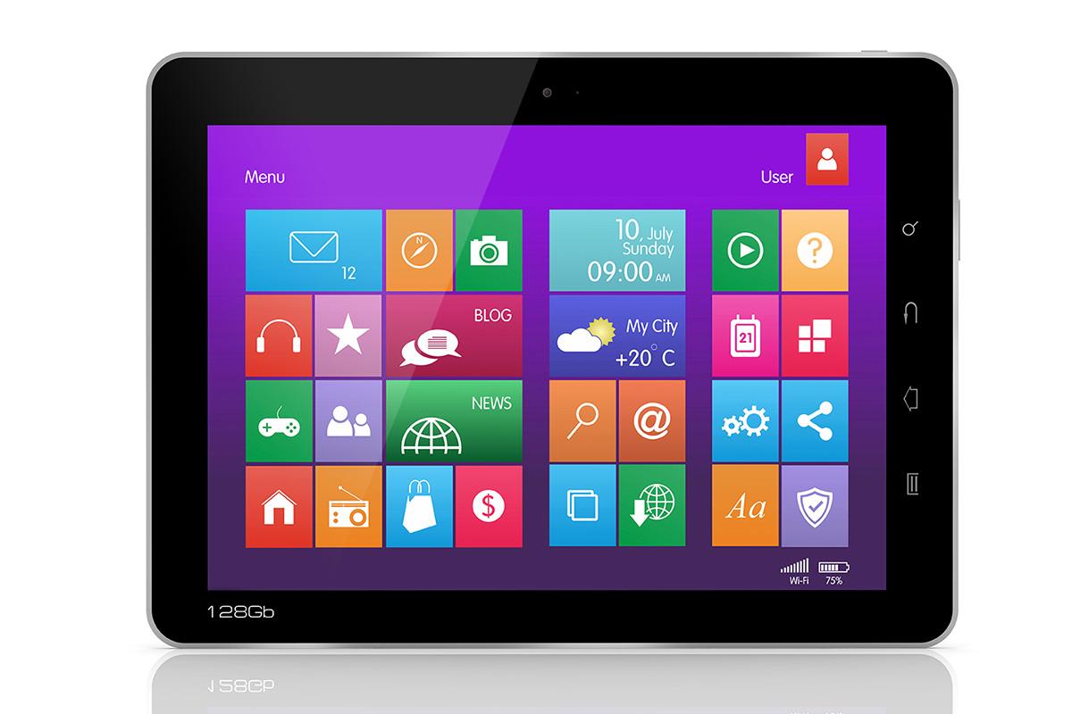 Windows 8 タブレット画像