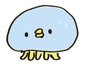 ひよこの顔をしたクラゲ