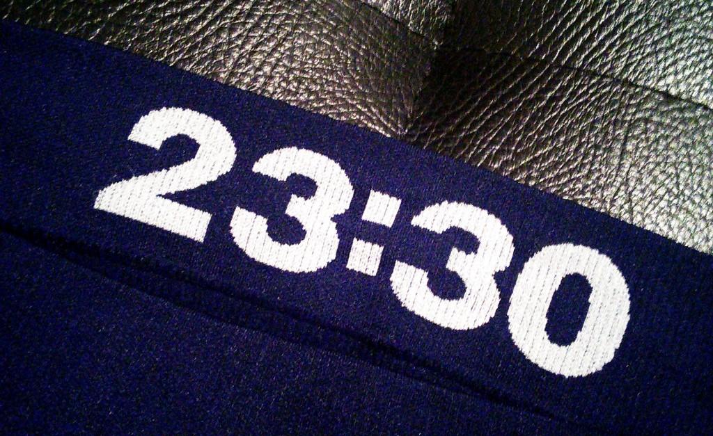 SOHOボクサーパンツ、裏面23:30のプリント写真