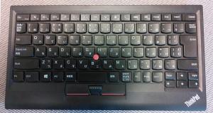 ThinkPad Bluetooth ワイヤレス・トラックポイント・キーボード全体画像