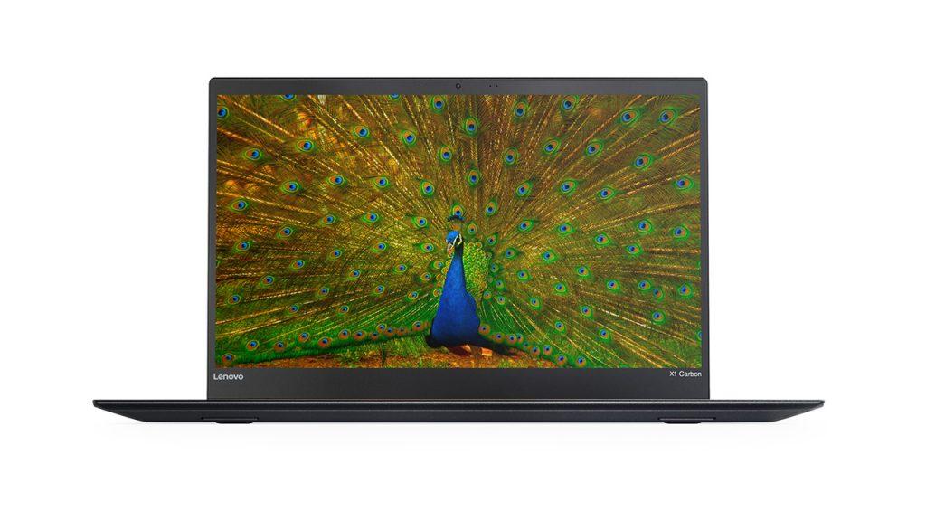 ThinkPad X1 Carbon 正面からの写真