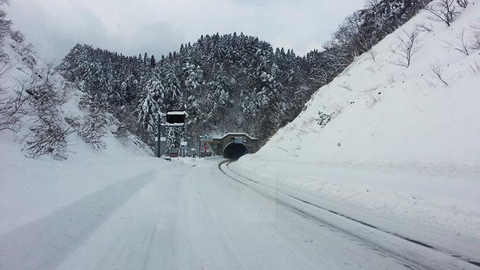 国道113号線、宮城福島県境付近の写真