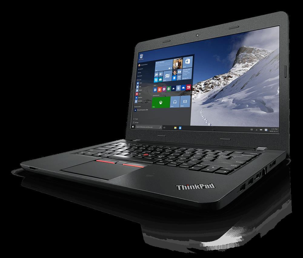 ThinkPad E460、前部斜めからの画像