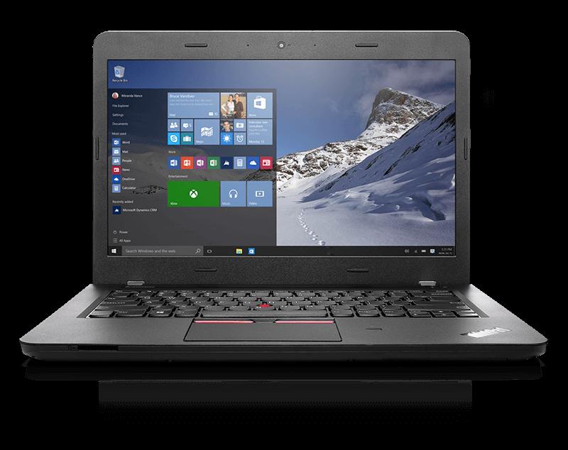 ThinkPad E460 正面画像