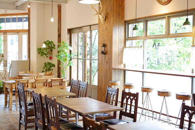 カフェ、レストランの画像
