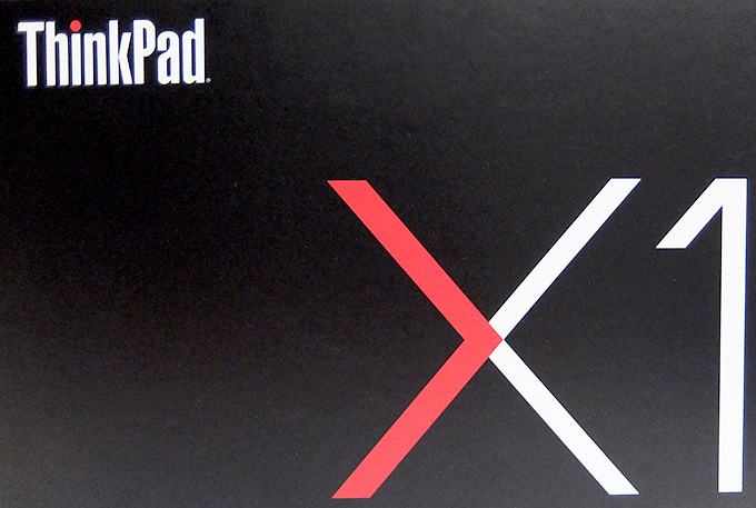 ThinkPad X1 Carbon 2016 パッケージ拡大画像