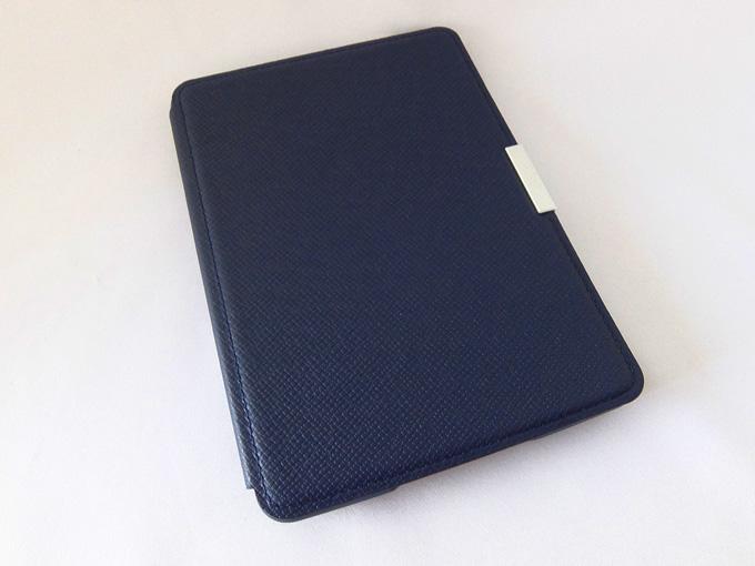 Amazon Kindle Paperwhite用レザーカバー、ミッドナイトブルー (Kindle Paperwhite専用)画像