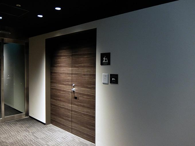 ホテルアール・メッツ宇都宮の廊下とフィットネスルーム