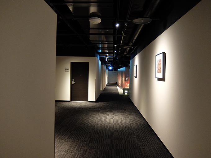 ホテルアール・メッツ宇都宮、セキュリティチェックを抜けた場所の写真
