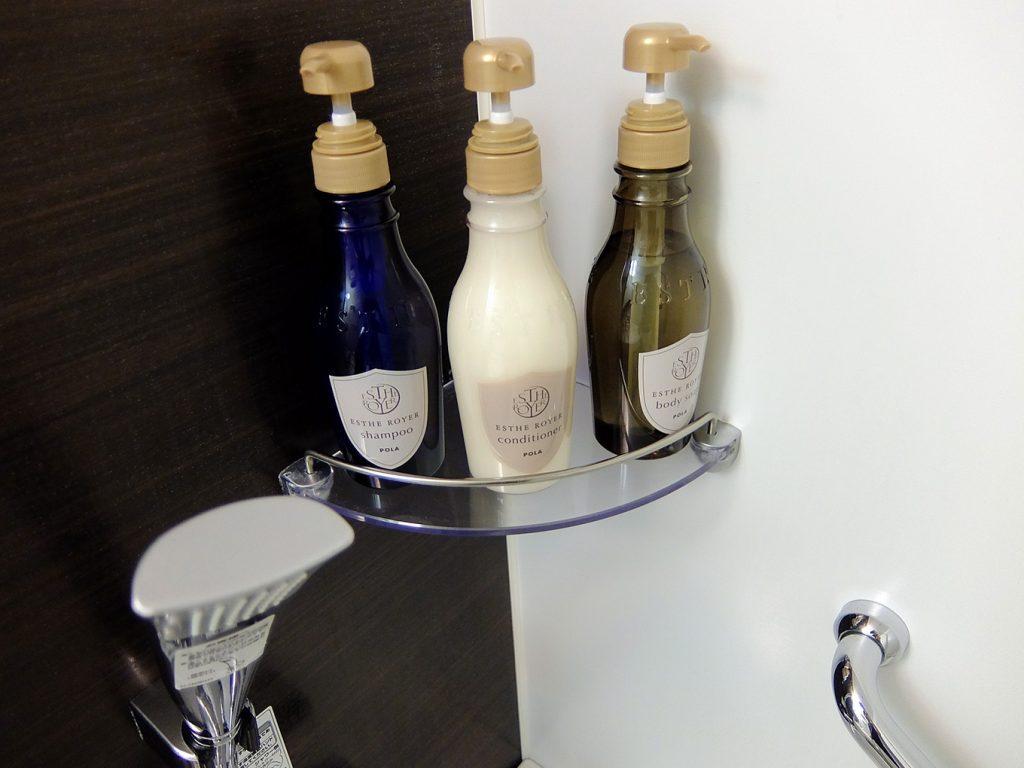 ホテルアール・メッツ宇都宮バスルームのシャンプー類