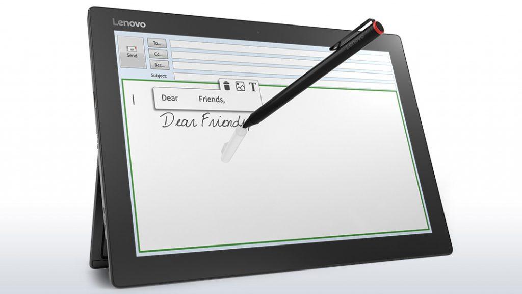 ideapad MIIX 700、ペン利用シーン