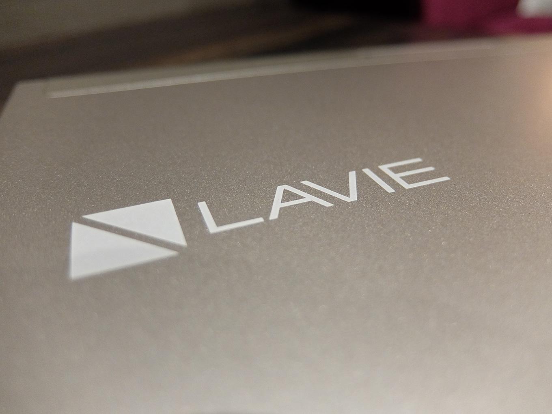 LAVIE Direct HZ(D)、LAVIEロゴ