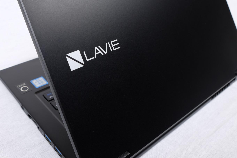 LAVIE Direct HZ、背面からの画像
