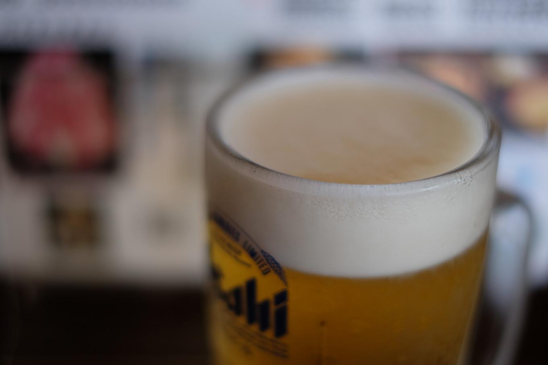 長瀞、寳~TAKARA~の生ビール