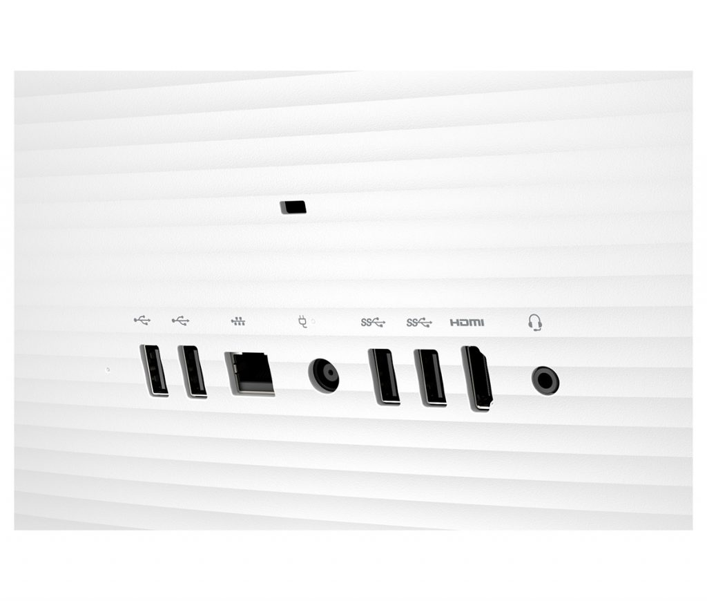 HP 22-b000jp、裏面ポート類