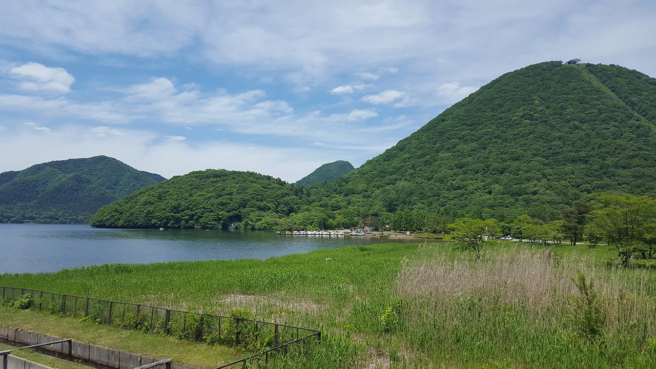 群馬県、榛名湖